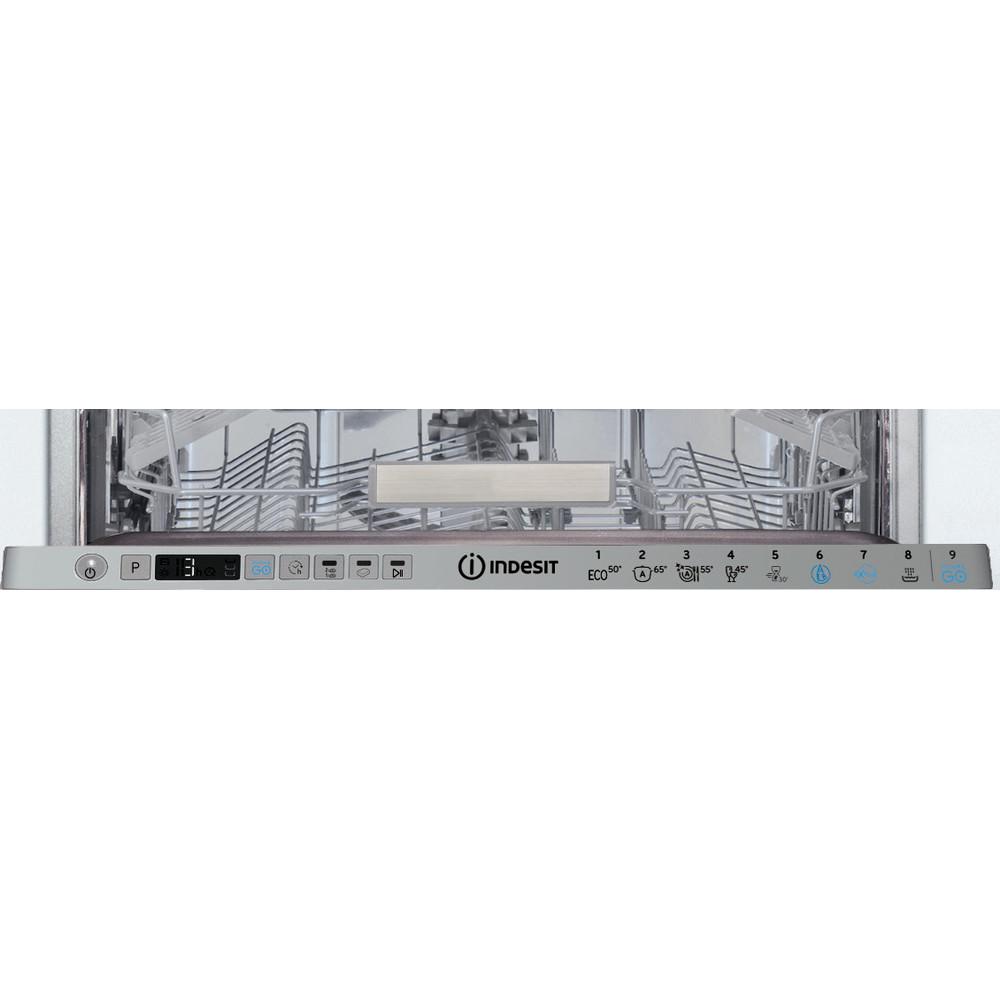 Indesit Myčka nádobí Vestavné DSIO 3T224 Z E Full-integrated A++ Control panel