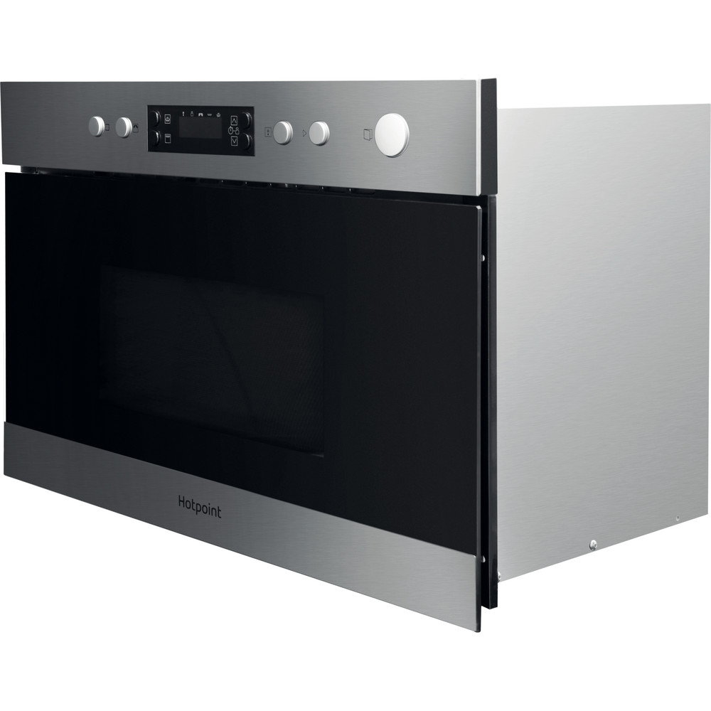 Hotpoint Built In Microwave Oven Inox Mn 314 Ix H