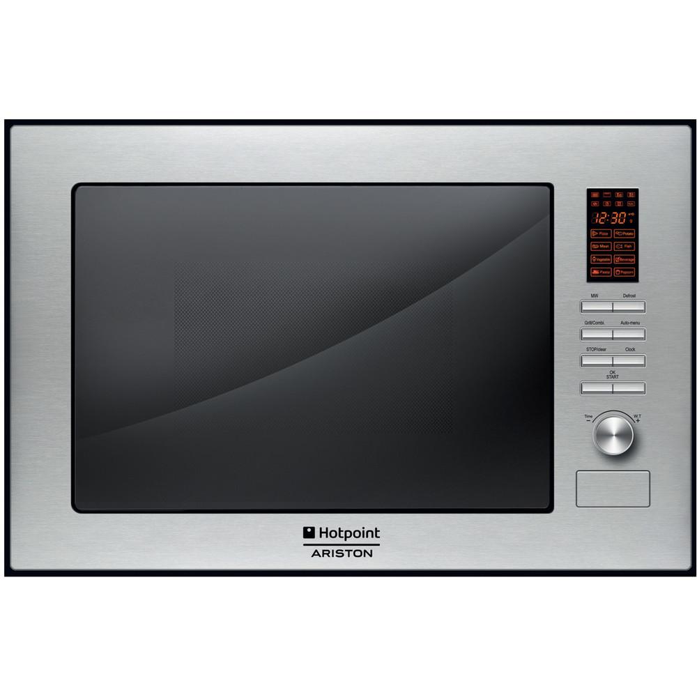 Hotpoint_Ariston Microonde Da incasso MWHA 222.1 X Inox Elettronico 25 Microonde + grill 900 Frontal