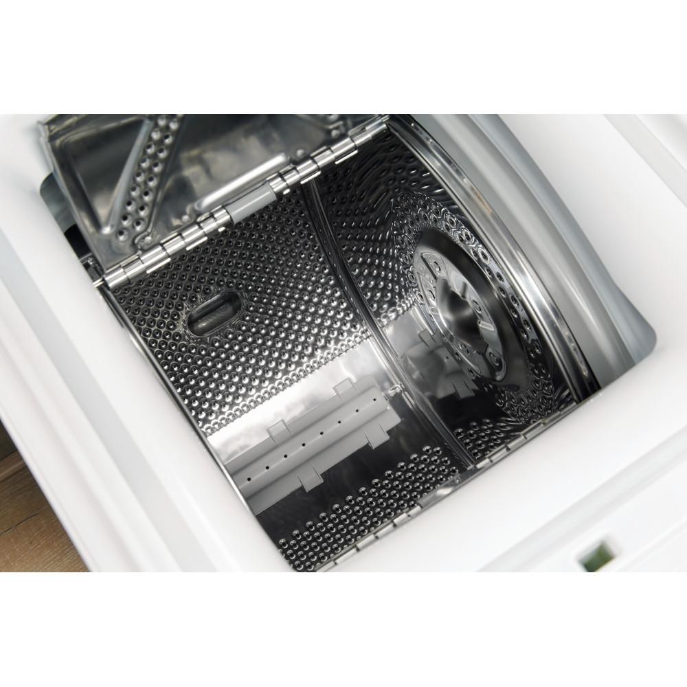 Indesit Стиральная машина Отдельно стоящий BTW D71253 (EU) Белый Top loader A+++ Drum
