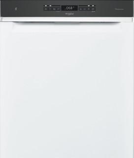Whirlpool-opvaskemaskine: hvid farve, fuld størrelse - WUO 3O41 PLG