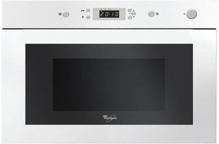 Whirlpool beépíthető mikorhullámú sütő: fehér szín - AMW 496 WH