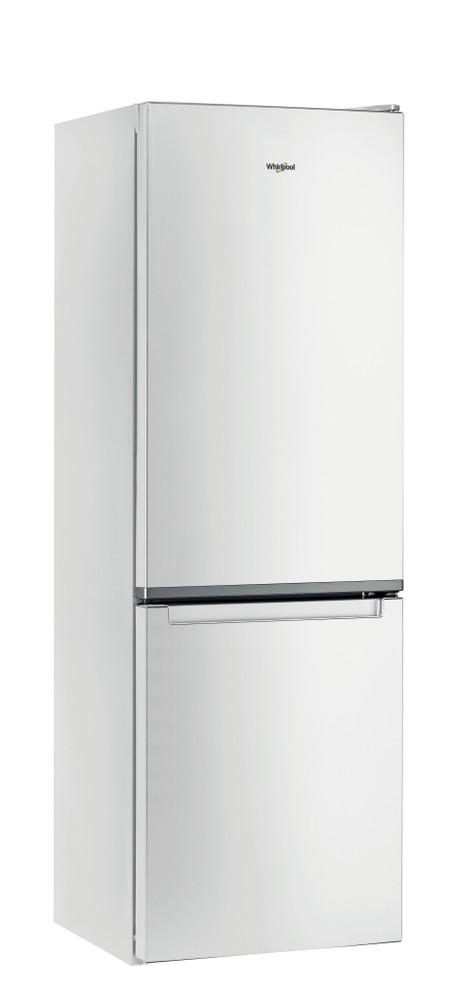 Whirlpool Комбиниран хладилник с камера Свободностоящи W5 811E W 1 Глобално бяло 2 врати Perspective