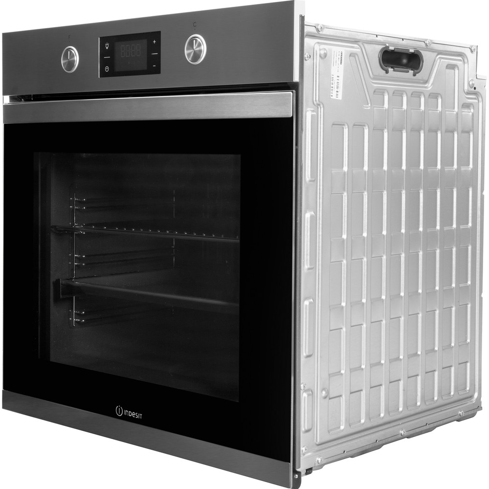 Indesit OVEN Built-in KFW 3841 JH IX UK Electric A+ Perspective