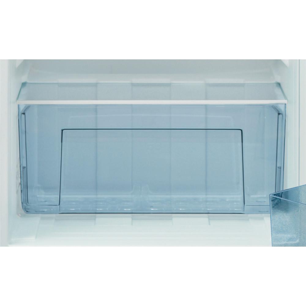 Indesit Kühlschrank Freistehend I55VM 1120 W CH 2 Weiss Drawer
