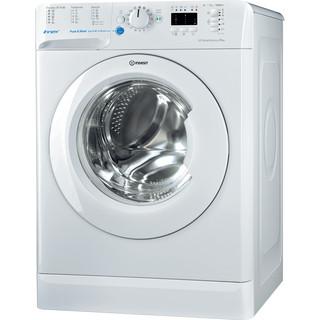 Indesit Pračka Volně stojící BWSA 71253 W EU Bílá Front loader A+++ Perspective