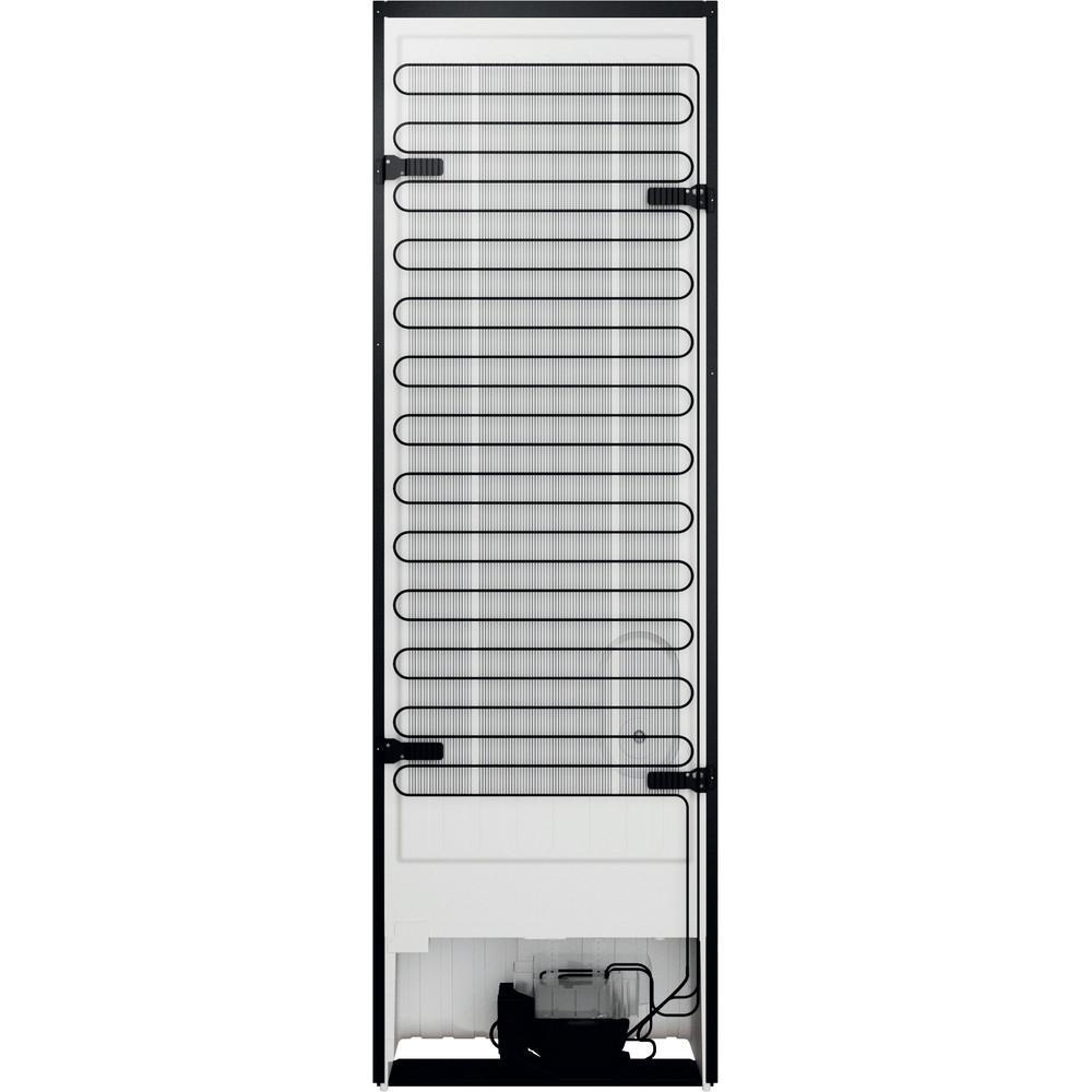 Indesit Réfrigérateur combiné Pose-libre INFC8 TO22K Noir 2 portes Back / Lateral