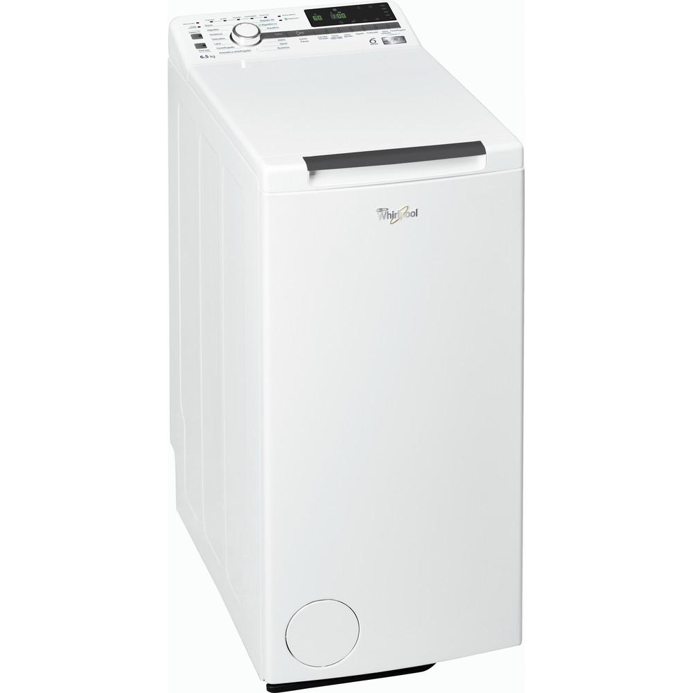 Lavadora carga superior de libre instalación Whirlpool: 6.5kg - TDLR 65230