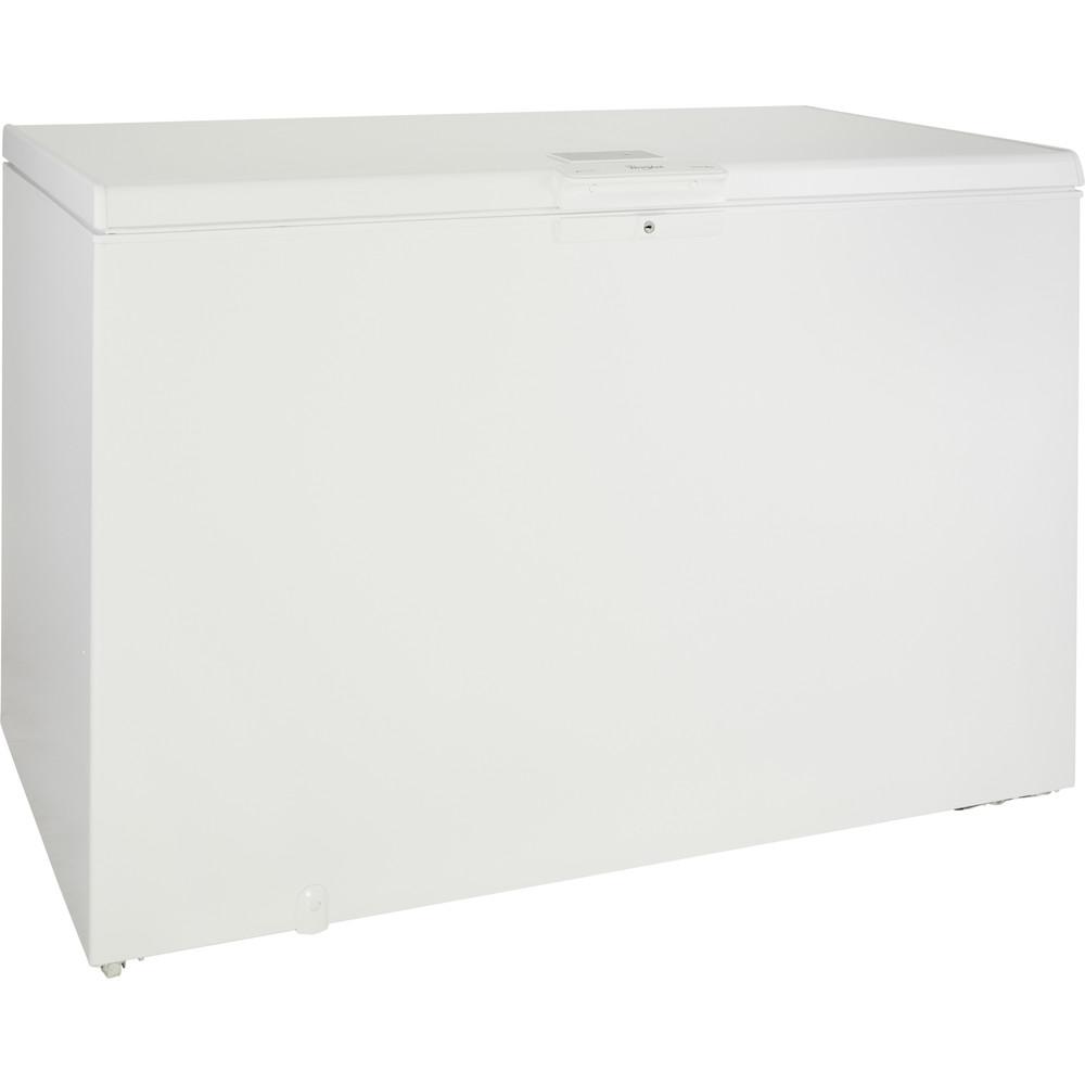 Congelador horizontal Whirlpool: color blanco - WHE39352 FO
