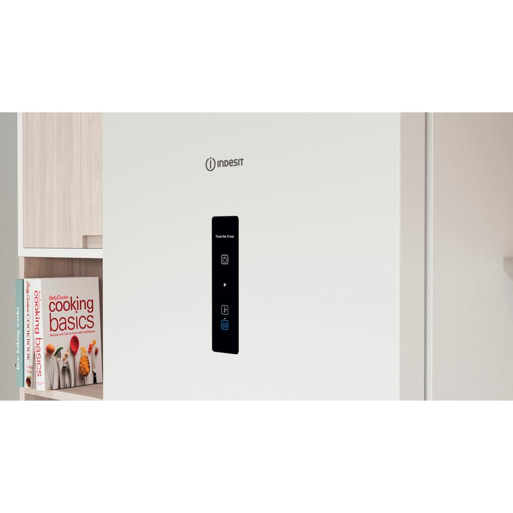 Indesit Холодильник с морозильной камерой Отдельно стоящий ITI 5201 W UA Белый 2 doors Lifestyle control panel