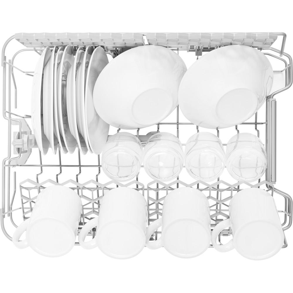 Indesit Myčka nádobí Volně stojící DSFO 3T224 C S Volně stojící A++ Rack