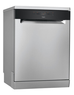 Whirlpool dishwasher: inox color, full size - WFE 2B19 X UK N