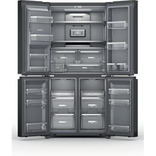 Whirlpool side-by-side american fridge - WQ9I FO1BX UK