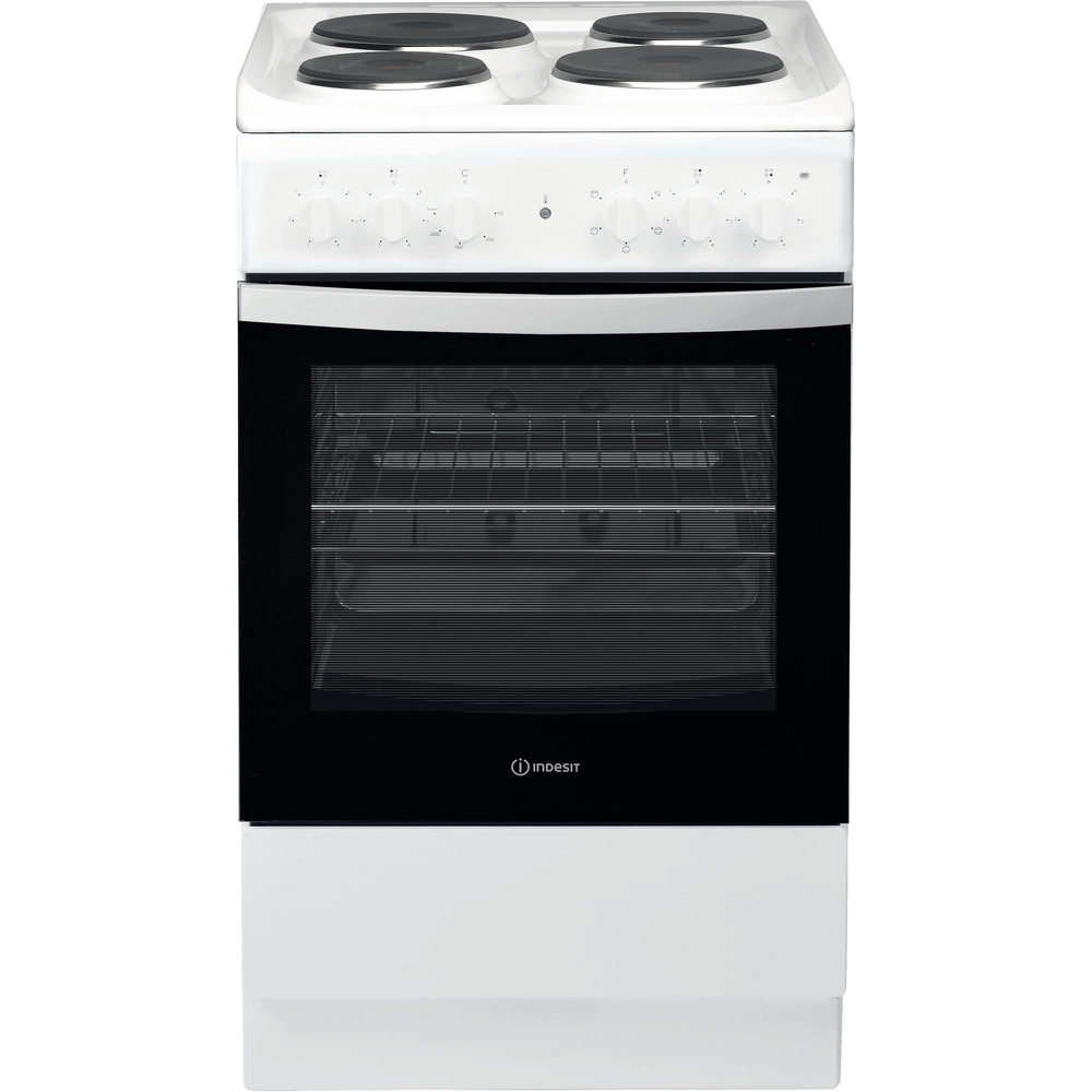 Indesit Fogão IS5E4KHW/EU Branco Electrical Frontal