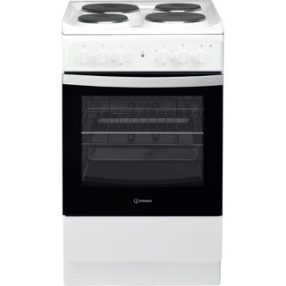 Indesit Готварска печка IS5E4KHW/EU Бял Electrical Frontal