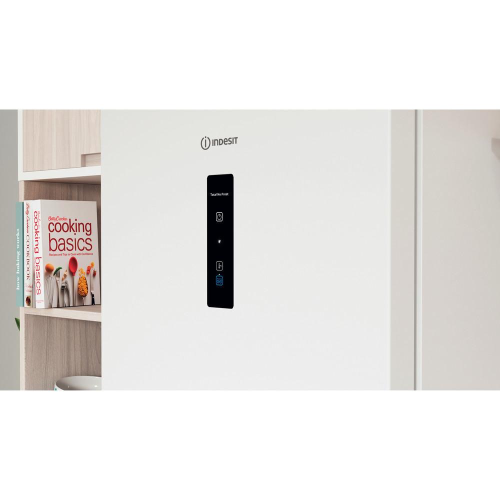 Indesit Холодильник с морозильной камерой Отдельностоящий ITS 5180 W Белый 2 doors Lifestyle control panel