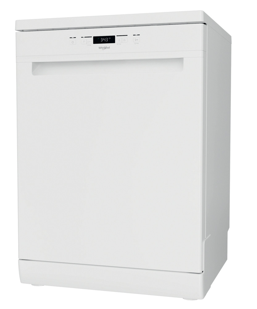 Whirlpool Dishwasher Free-standing WFC 3B19 UK N Free-standing F Perspective