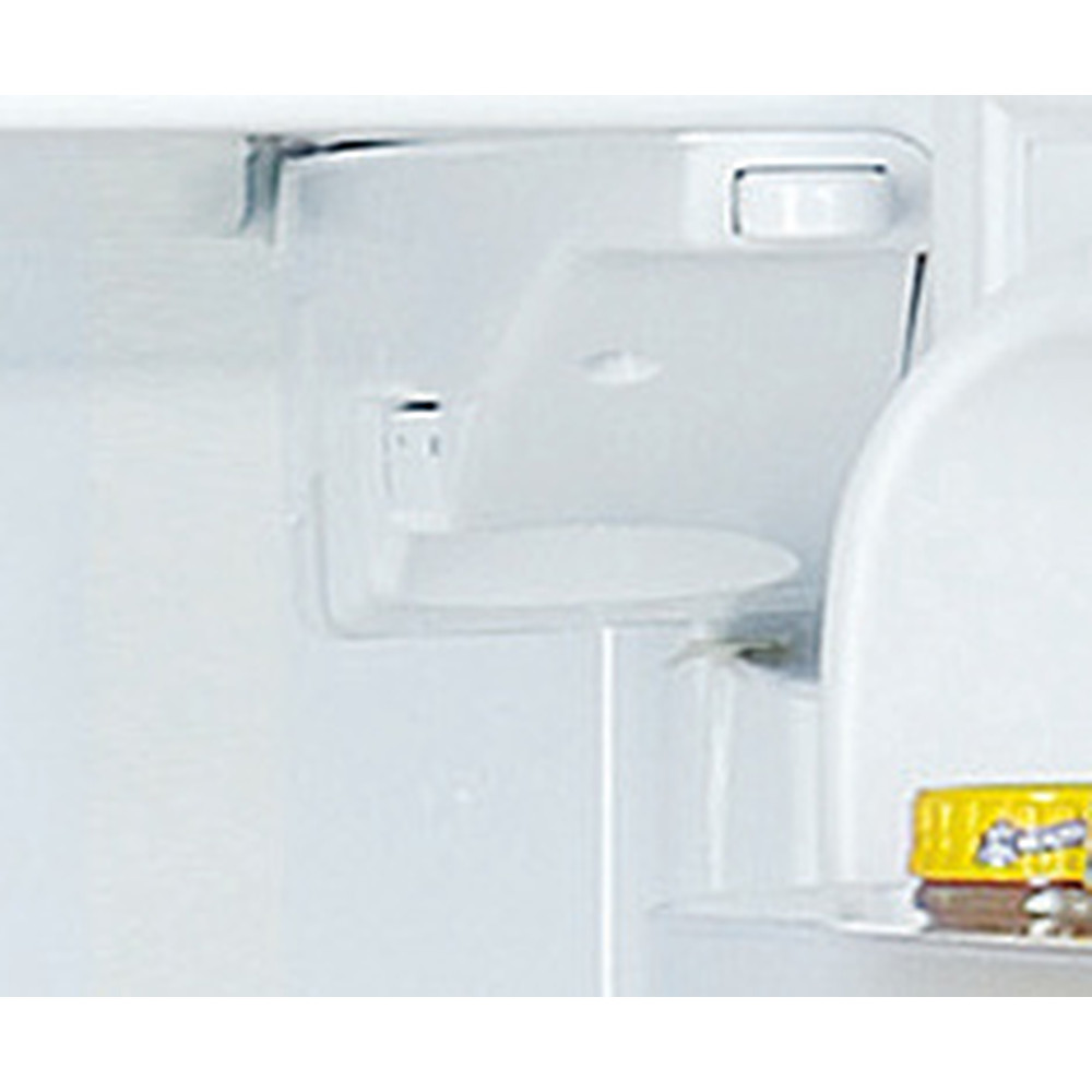 Indesit Combinación de frigorífico / congelador Libre instalación TIAA 10 V SI.1 Plata 2 doors Control panel