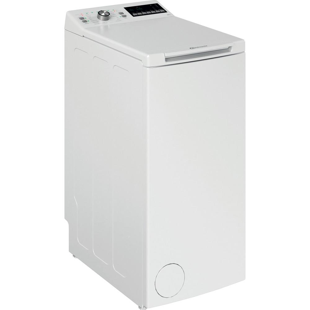 Bauknecht Waschmaschine Standgerät WTL 56312 N Weiss Toplader D Perspective