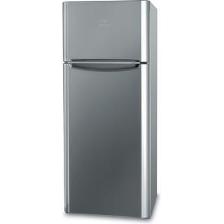 Indesit Комбиниран хладилник с камера Свободностоящи TIAA 10 X.1 Инокс 2 врати Perspective
