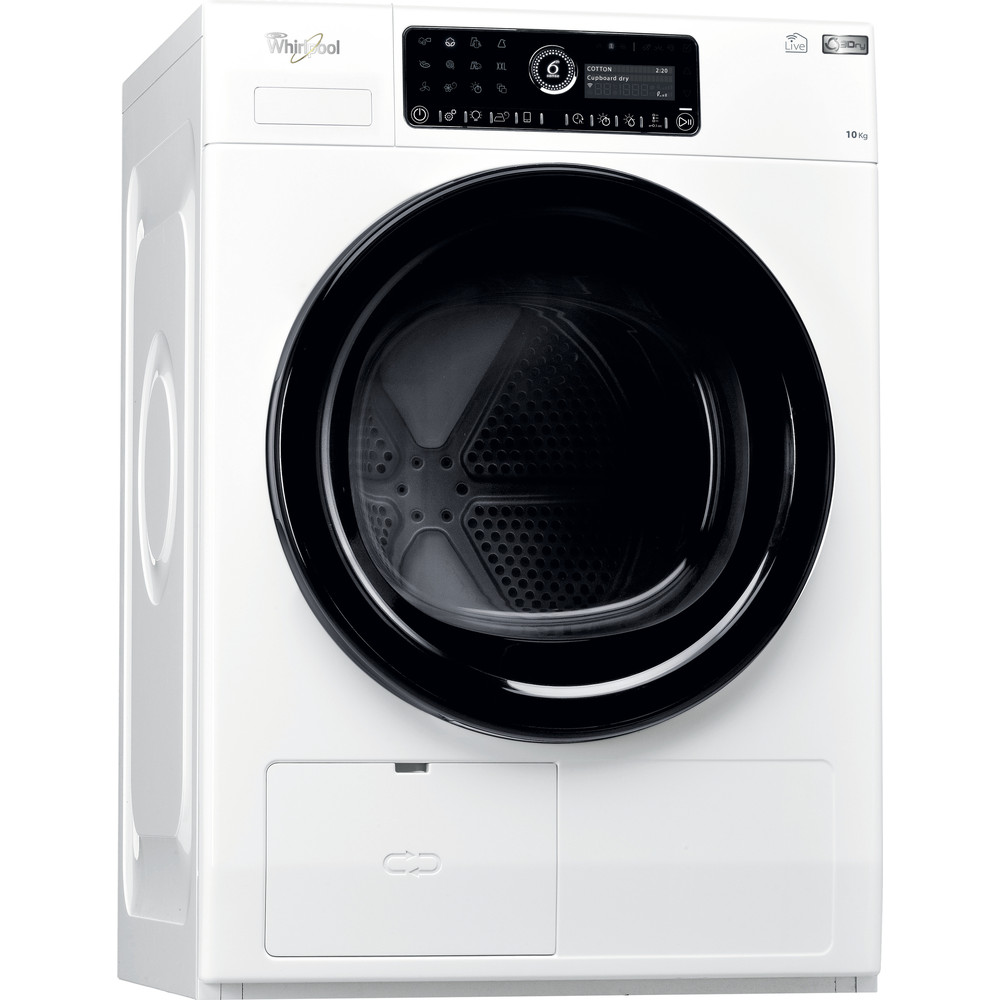 Whirlpool värmepumpstumlare: fristående, 10 kg - HSCX 10445 C