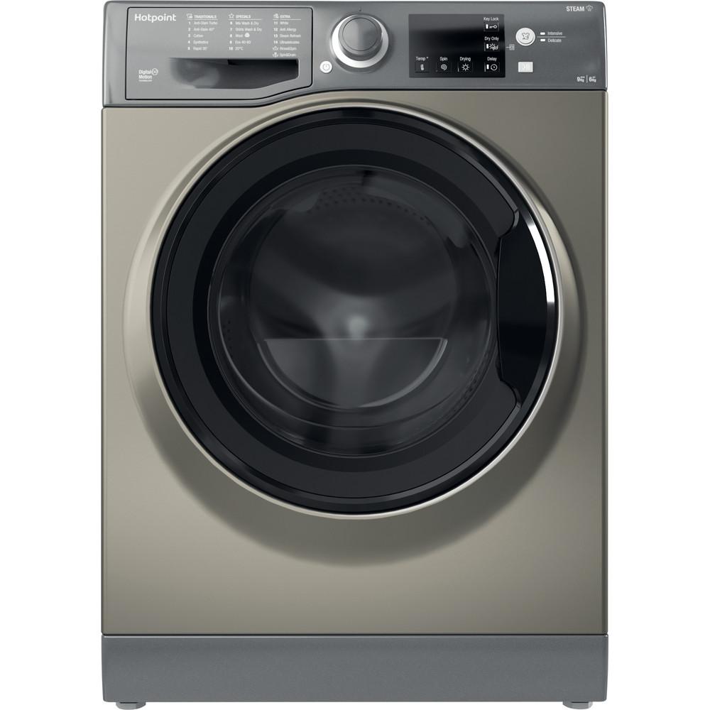 Hotpoint Washer dryer Free-standing RDGR 9662 GK UK N Graphite Front loader Frontal