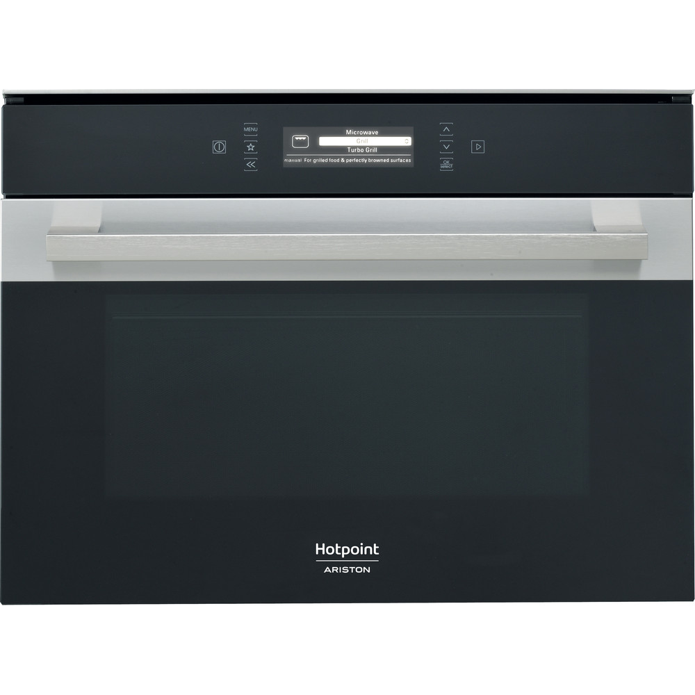 Hotpoint_Ariston Microonde Da incasso MP 996 IX HA Inox Elettronico 40 Microonde combinato 900 Frontal