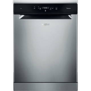 Whirlpool dishwasher: inox color, full size - WFC 3C24 P X UK