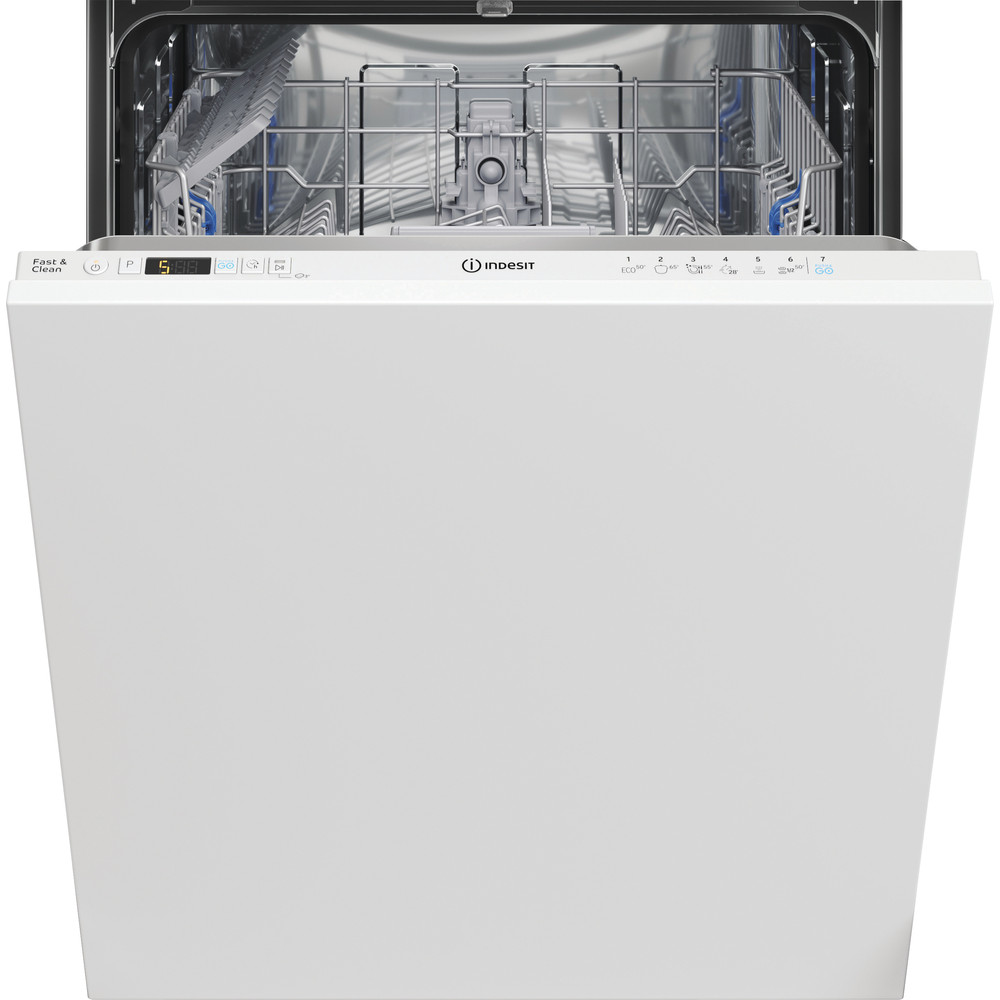 Indesit Lave-vaisselle Encastrable DIC 3B+16 A Tout intégrable F Frontal