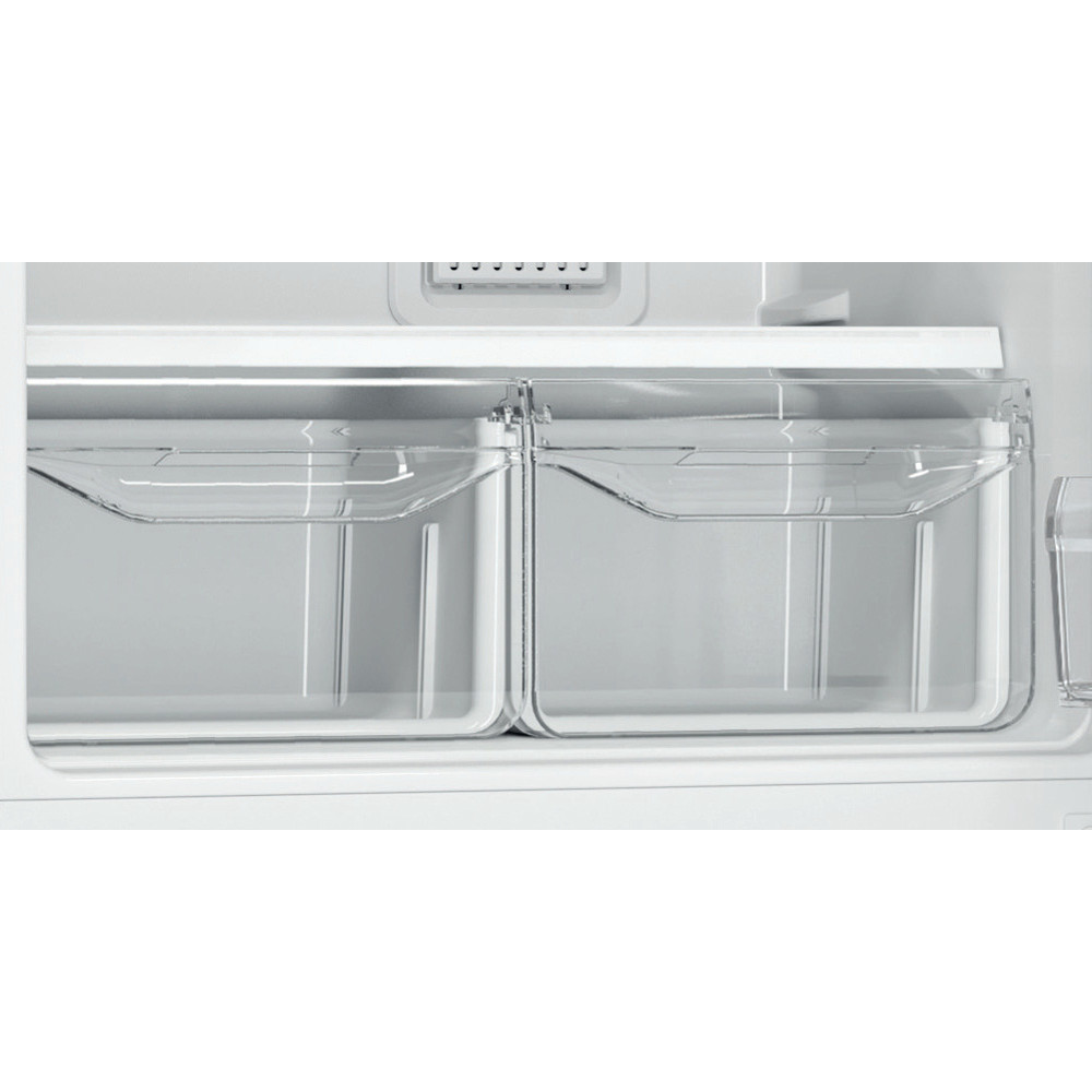 Indesit Холодильник с морозильной камерой Отдельностоящий DF 4160 W Белый 2 doors Drawer