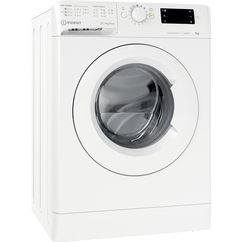 Indesit Пральна машина Соло OMTWE 71483 W EU Білий Front loader A+++ Perspective