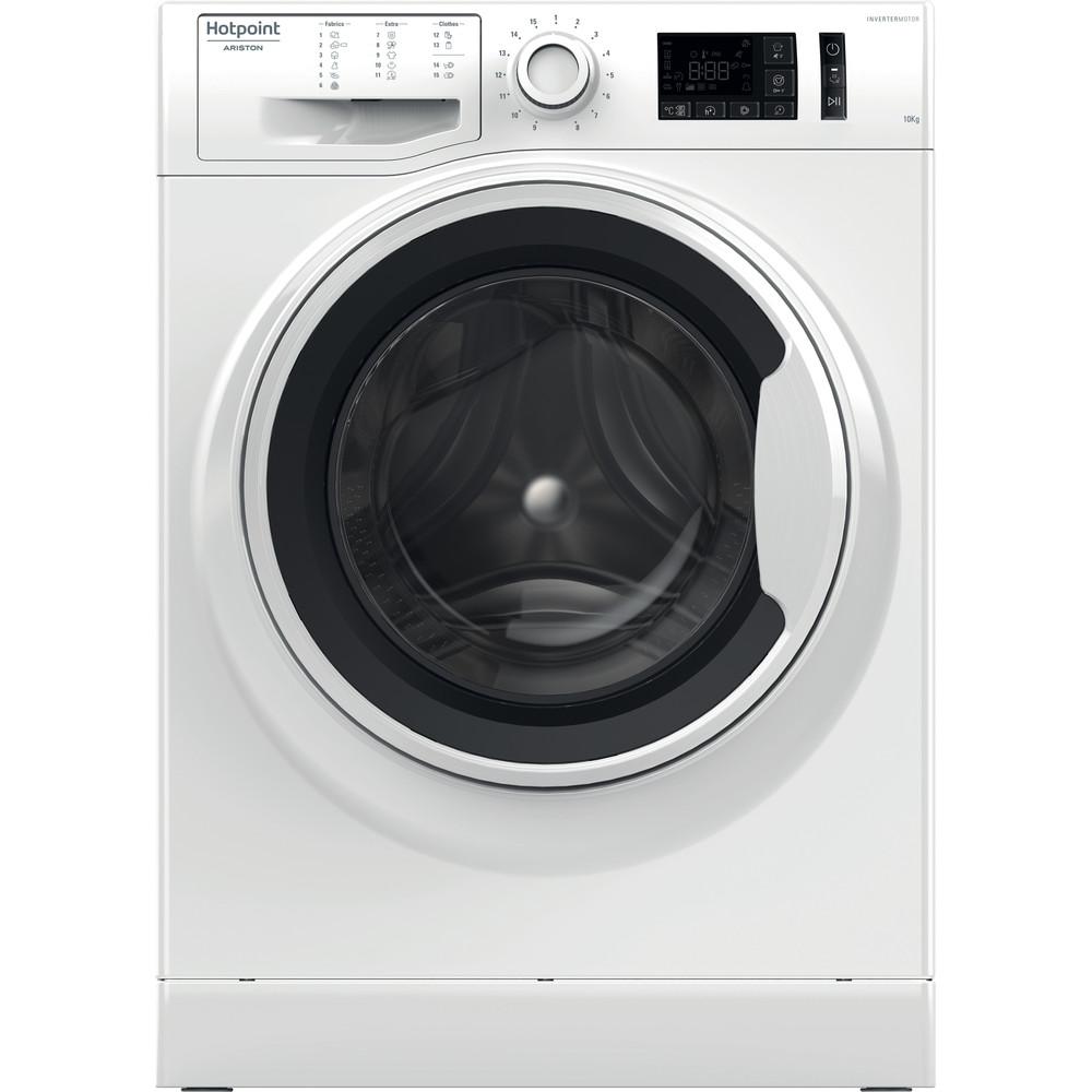 Hotpoint_Ariston Máquina de lavar roupa Livre Instalação NM11 1024 WW EU Branco Carga Frontal A+++ Frontal