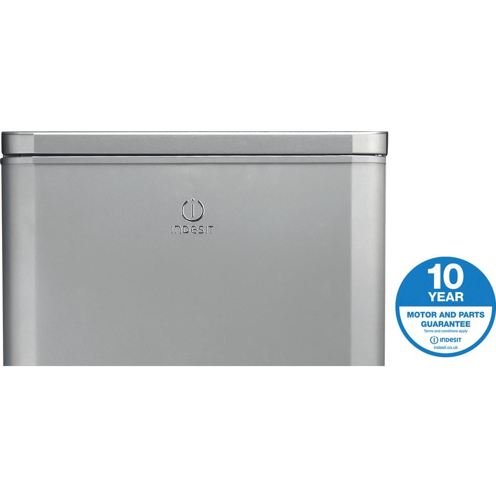 Indesit Fridge-Freezer Combination Free-standing IBD 5515 S 1 Silver 2 doors Award