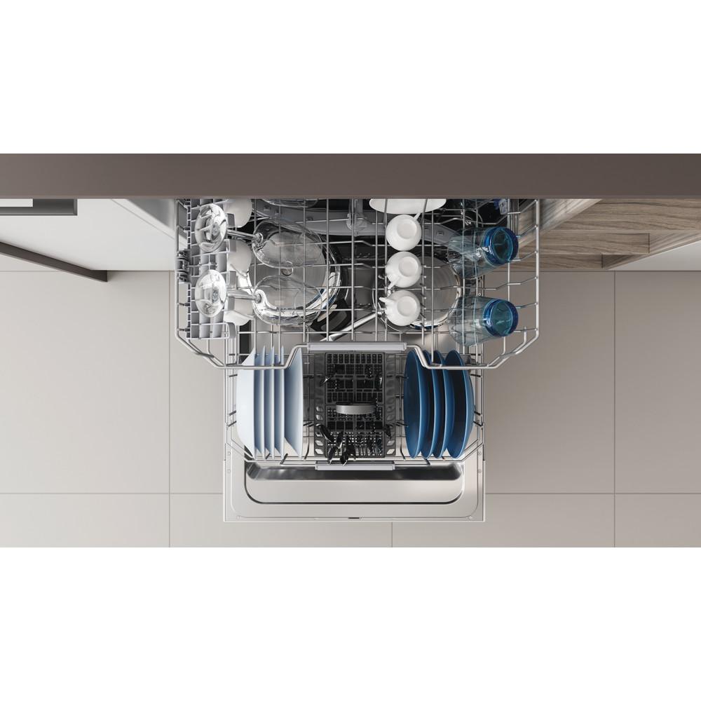 Indesit Vaatwasser Ingebouwd DIC 3B+16 A Volledig geïntegreerd F Rack