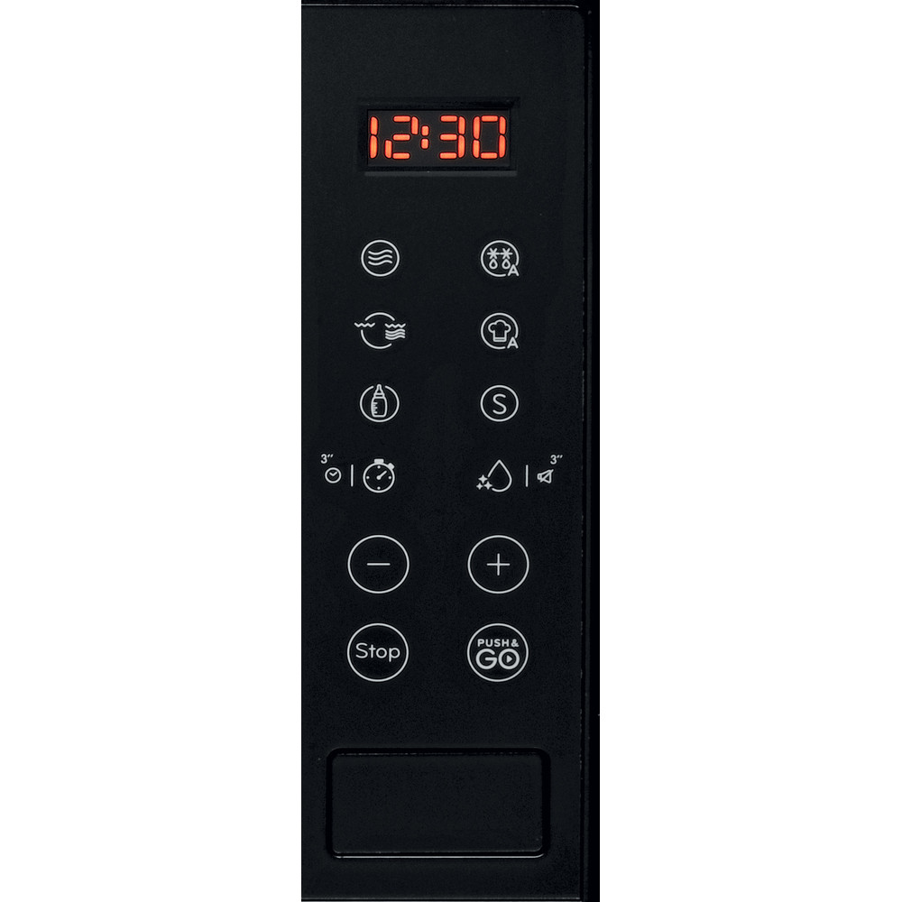 Indesit Mikrovlnná rúra Vstavané MWI 120 GX Nerez Elektronické 20 Mikrovlny + Gril 800 Control panel