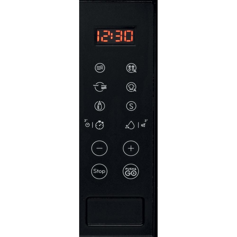 Indesit Mikrovlnná trouba Vestavné MWI 120 GX Nerez Elektronické 20 Mikrovlny + Gril 800 Control panel