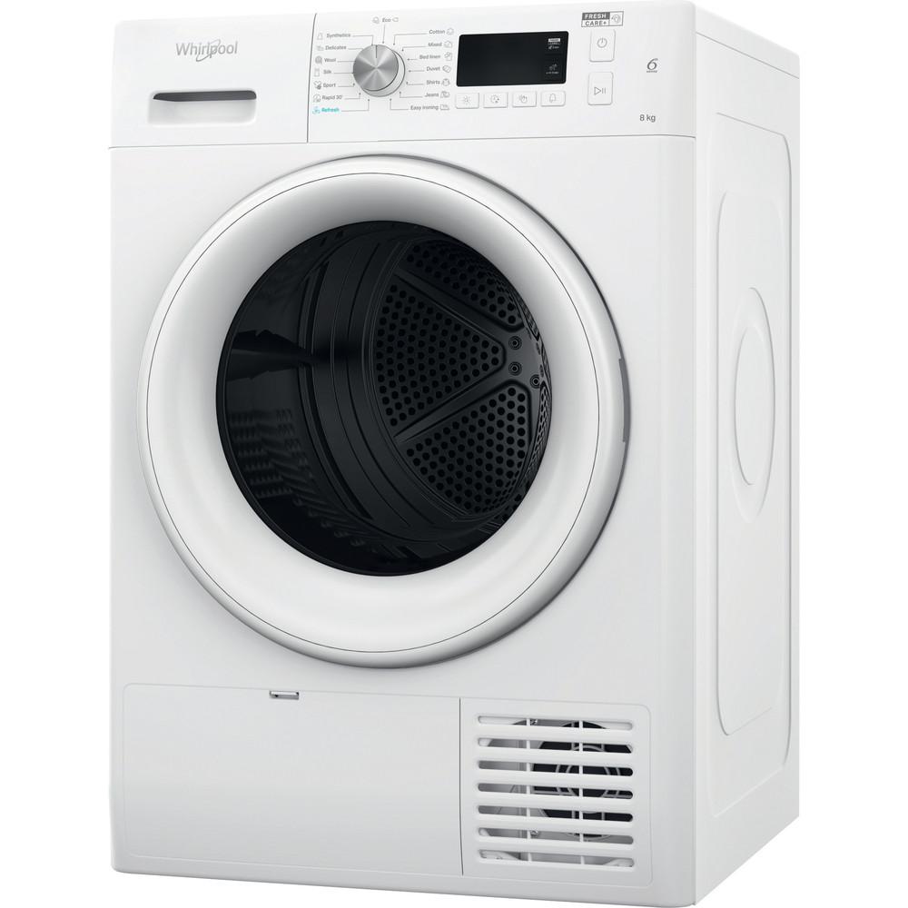 Whirlpool värmepumpstumlare: fristående, 8 kg - FFT M11 82 EE