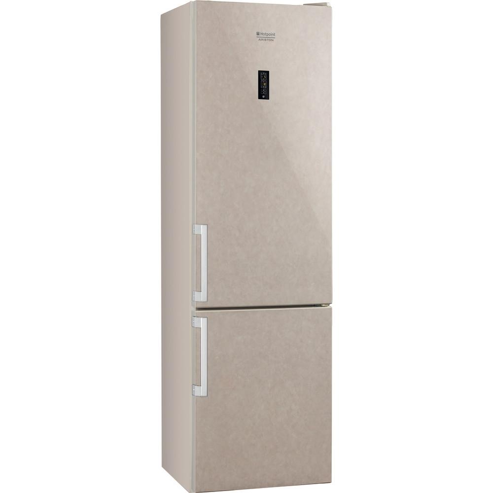 Hotpoint_Ariston Комбинированные холодильники Отдельностоящий HFP 6200 M Мраморный 2 doors Perspective