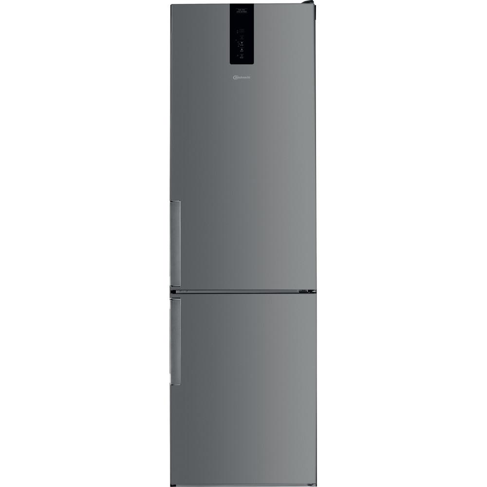Bauknecht Kühl- / Gefrierkombination Standgerät KGDNF 20C GDIX Edelstahloptik 2 doors Frontal