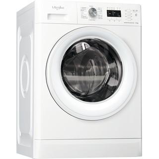Whirlpool Perilica za rublje Samostojeći FFL 6238 W EE Bijela Prednje punjenje D Perspective