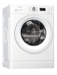 Whirlpool samostalna mašina za pranje veša s prednjim punjenjem: 6 kg - FFL 6238 W EE