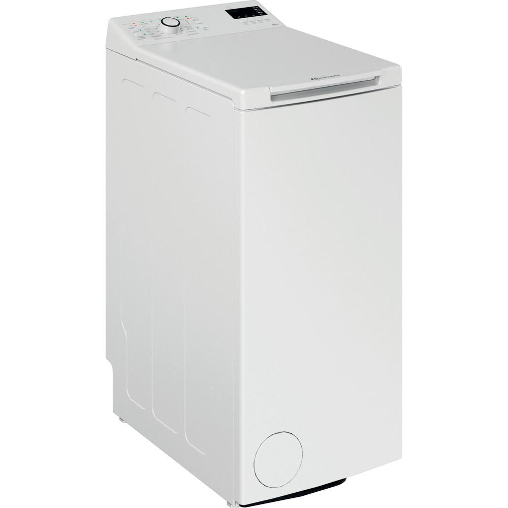 Bauknecht Waschmaschine Standgerät WAT DR 2 N Weiss Toplader D Perspective