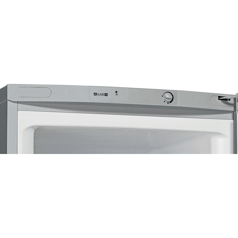 Indesit Холодильник с морозильной камерой Отдельностоящий TIA 16 S Серебристый 2 doors Control panel