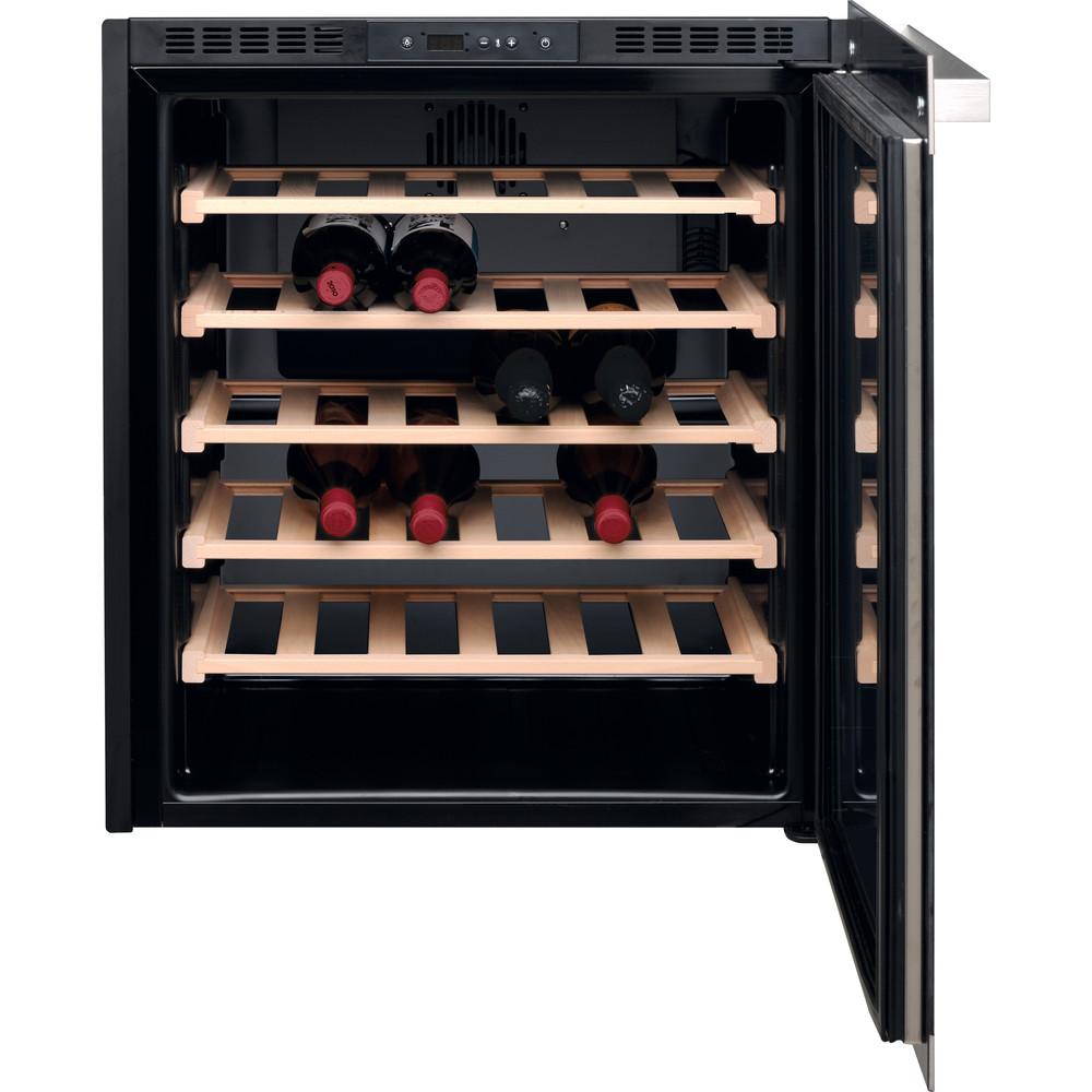 Hotpoint_Ariston Conservazione del vino Da incasso HA7 WC711 Inox Frontal open