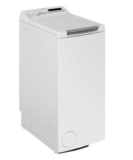 Fritstående Whirlpool-vaskemaskine med topbetjening: 6.5 kg - TDLR 65230SS EU/N