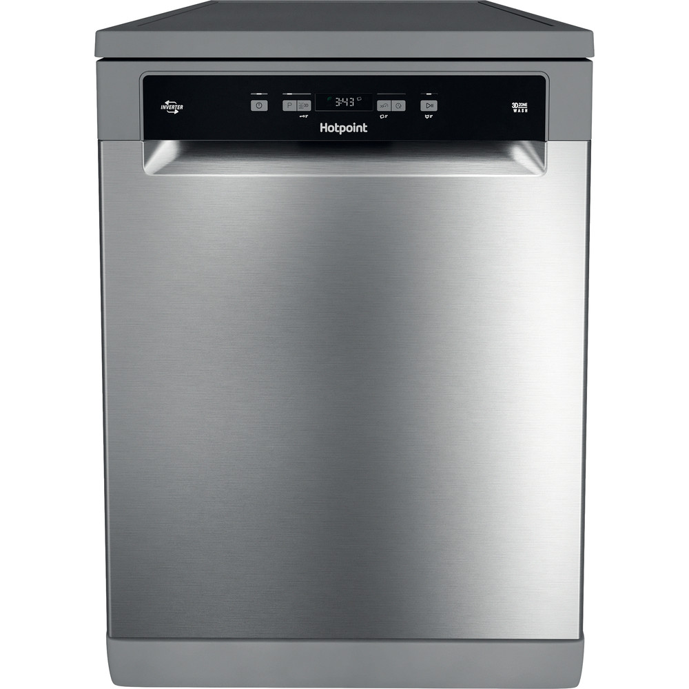 Hotpoint Dishwasher Free-standing HFC 3T232 WFG X UK Free-standing A Frontal