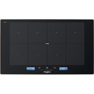 Taque de cuisson à induction SMP 778 C/NE/IXL Whirlpool - Encastrable - 8 zones de cuisson