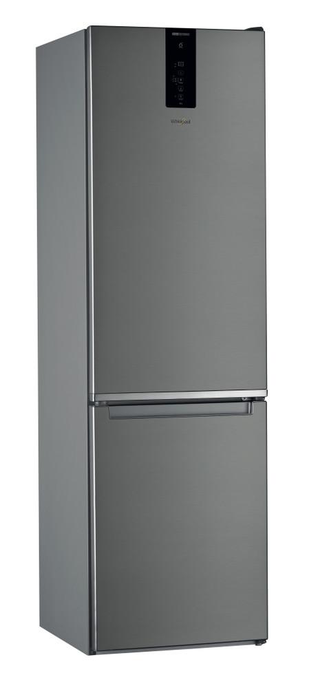 Whirlpool Hűtő/fagyasztó kombináció Szabadonálló W9 931D IX Inox 2 doors Perspective