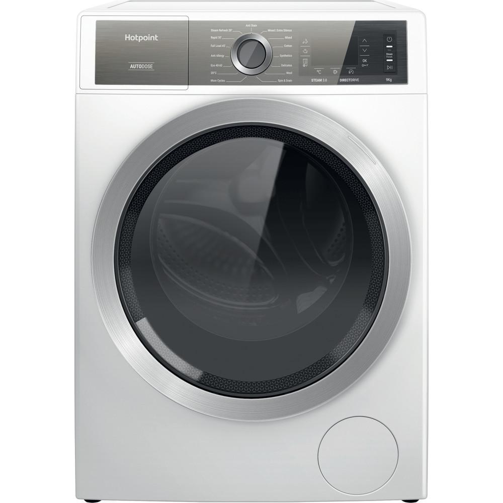 Hotpoint Washing machine Free-standing H7 W945WB UK White Front loader B Frontal