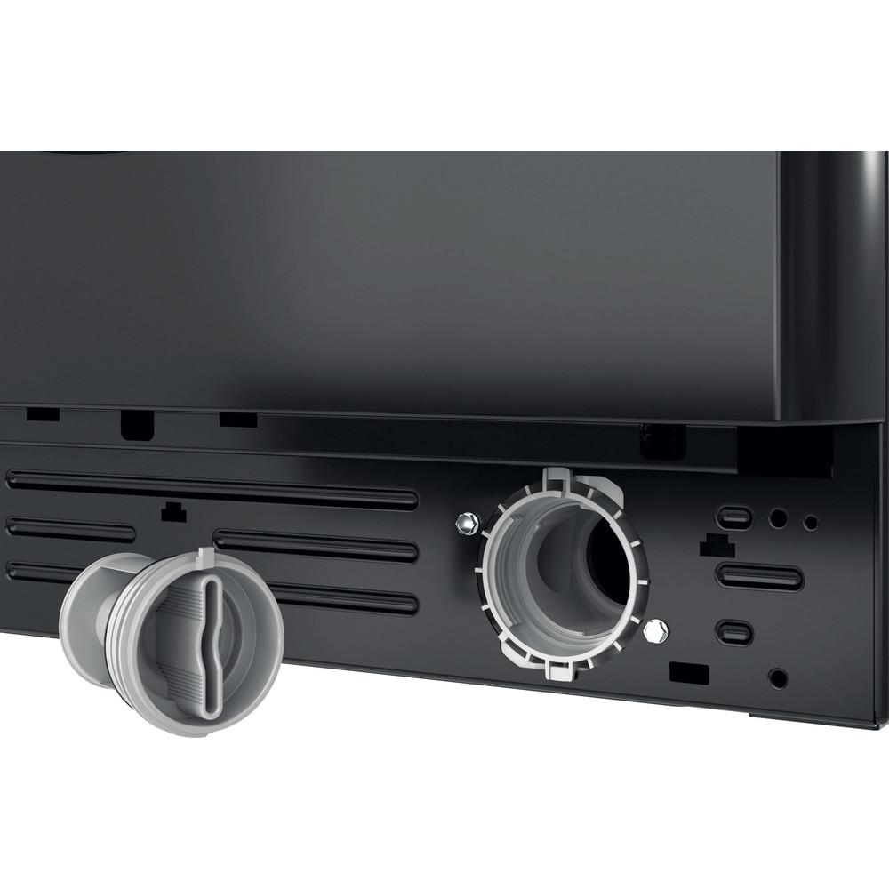 Indesit Washing machine Free-standing BWA 81683X K UK N Black Front loader D Filter